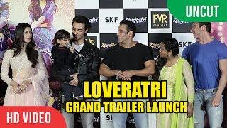 UNCUT - LOVERATI Official Trailer Launch | Salman Khan and Family | Aayush Sharma, Warina Hussain