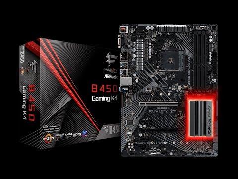 ✅ASRock Fatal1ty B450 GAMING K4 Motherboard Review