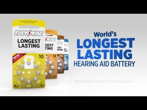Rayovac Hearing Aid Batteries