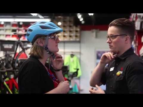 Bicycle Helmet Fitting