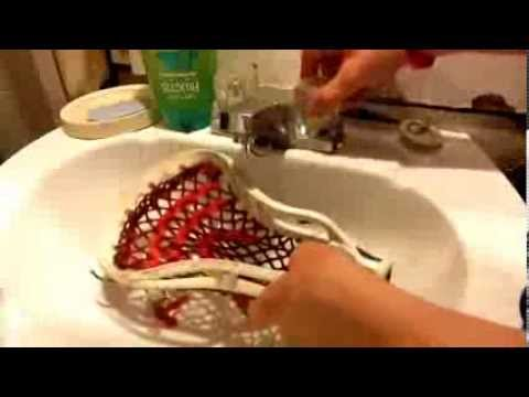 How to get the perfect pocket on your lacrosse stick.