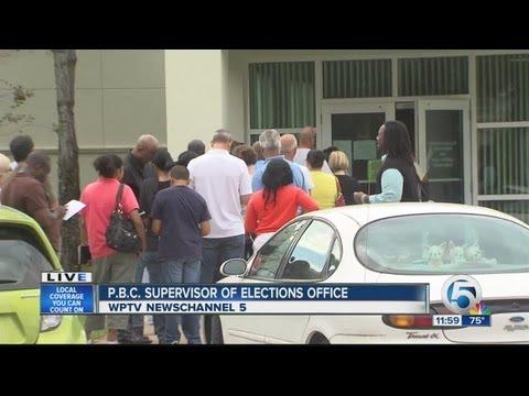 Absentee ballot voting
