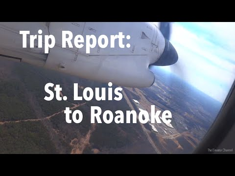 TRIP REPORT - United Airlines (Q300, ERJ-145), St Louis to Roanoke