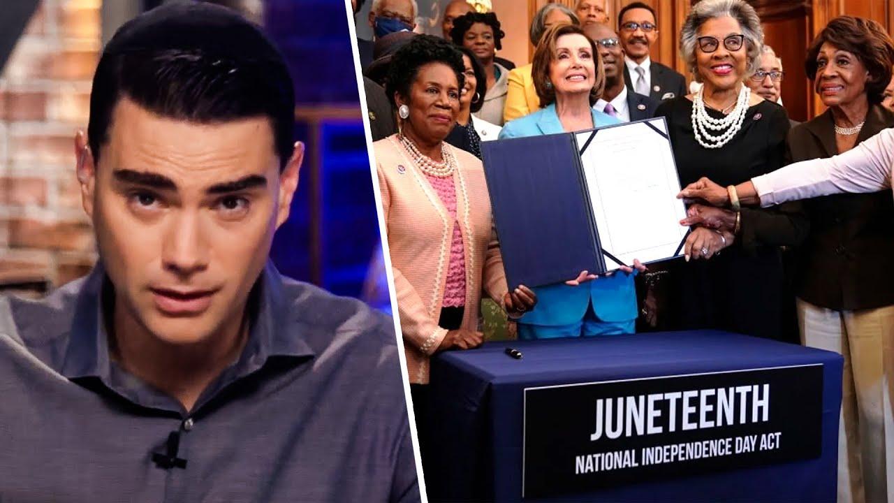 Leftists Suddenly Outraged Over Juneteenth Federal Holiday