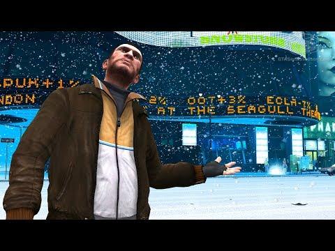 GTA 4 - Snow in Liberty City [Mod Showcase]
