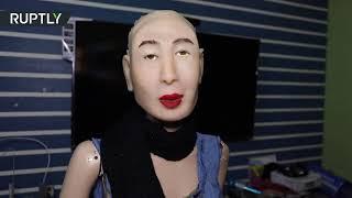 World's first HINDI-speaking humanoid robot, Rashmi