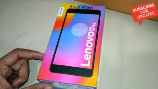 Lenovo K6 Note Unboxing and review in Hindi