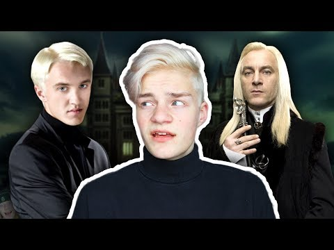 BECOMING A MALFOY! (Hair Dyeing *FAIL*)