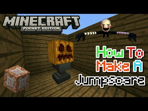 HOW TO MAKE A JUMPSCARE USING COMMAND BLOCK IN MCPE 1.1/1.0.6/1.0.5!! | MCPE CREATION | NO MODS