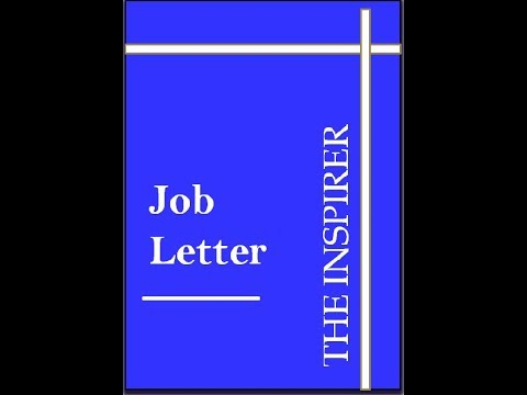How to write job letter// job application//CBSE pattern//Easy Language