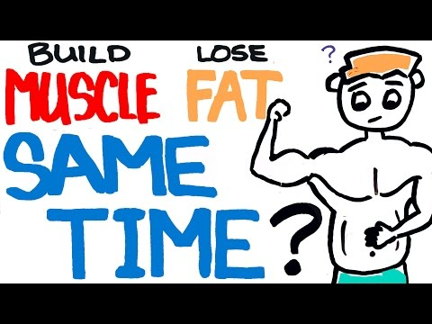 Build Muscle and Burn Fat at the Same Time - Is it Possible to Lose Weight and Bulk Up?