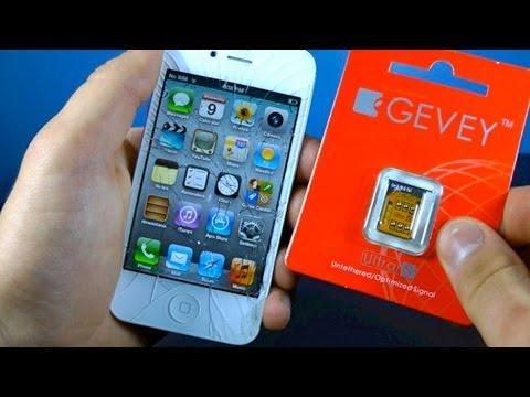 Unlock iPhone 4S 5.1.1/5.1/5.0.1/5.0 for Tmobile - Gevey Ultra S GSM & CDMA 2.0.12/2.0.10 Unlock