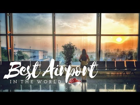 THE BEST AIRPORT IN THE WORLD ✈️ Reasons Why 🇸🇬 Singapore Has Always Been #1  // TheWickeRmoss