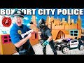 Box Fort Police Super Villain amp Stopping Crime 24 Hour Box Fort City Challenge Day 5
