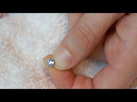 Dermal Piercing Magnetic Gem Jewellery