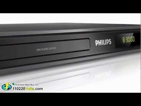 Philips DVP3350 Region Code Free DVD Player
