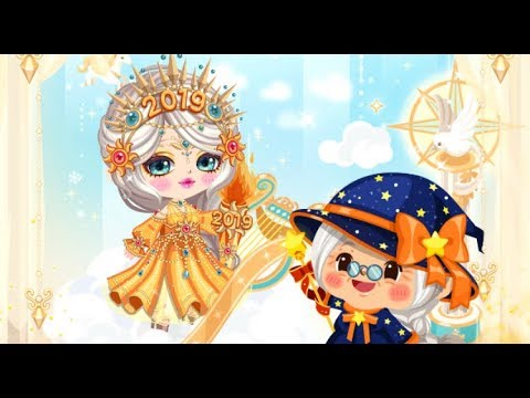 LINE Play - Gramma Wizzy Time Magic - New Years Goddess Of Victory Makeup