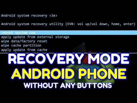 How to Enter Android Phone into Recovery Mode without Volume Up - Down and Power key   Hindi - हिंदी