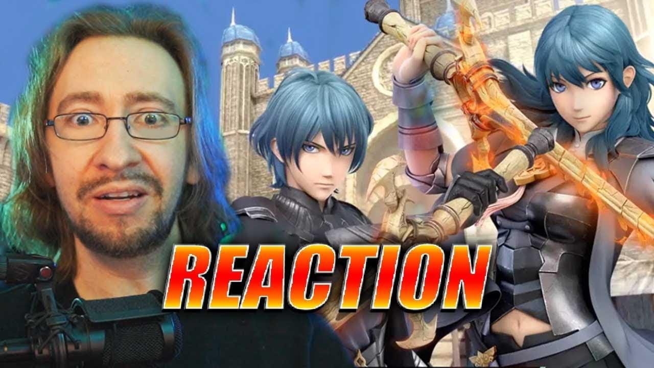 MAX REACTS: Dant...er...BYLETH Smash Reveal