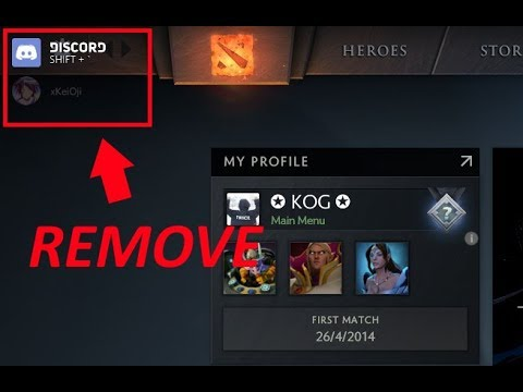 How To Remove Discord Icon In-Game