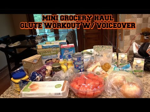 Mini Grocery Haul | Glute Workout W/ Voiceover | Bowmar Fitness