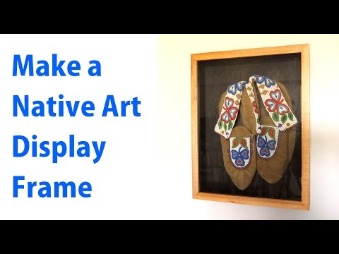 Make a Picture Frame to Display Native Art -  woodworkweb