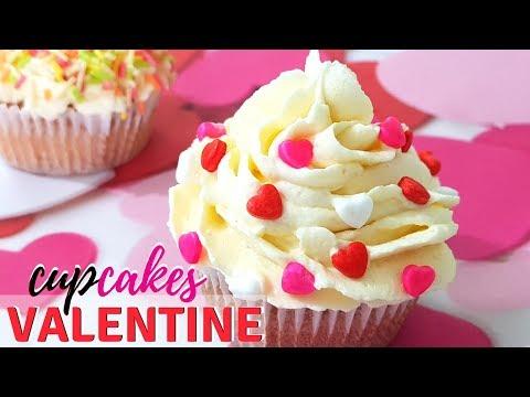 ♥️♥️Valentine Recipe♥️♥️ I ♥️Valentine Cupcakes♥️ I Valentine Day dessert♥️♥️