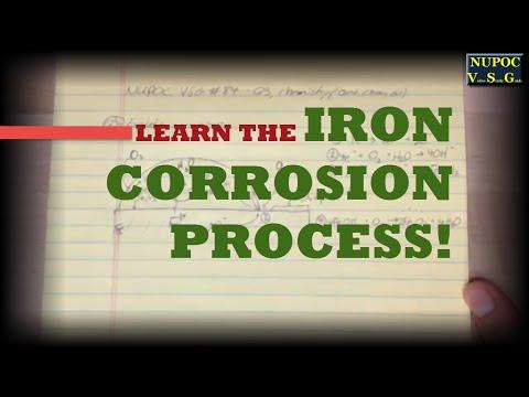 NUPOC VSG #84 - The Iron Corrosion Process