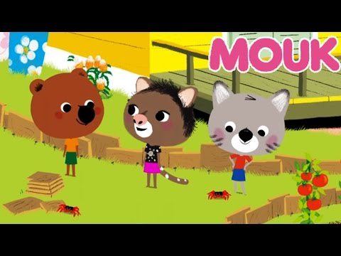 Mouk - Wild horses (Mongolia) and The Red Crabs (Australia) | Cartoon for kids