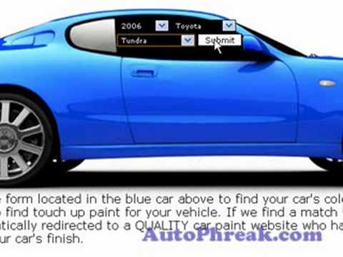 How to find your car color code