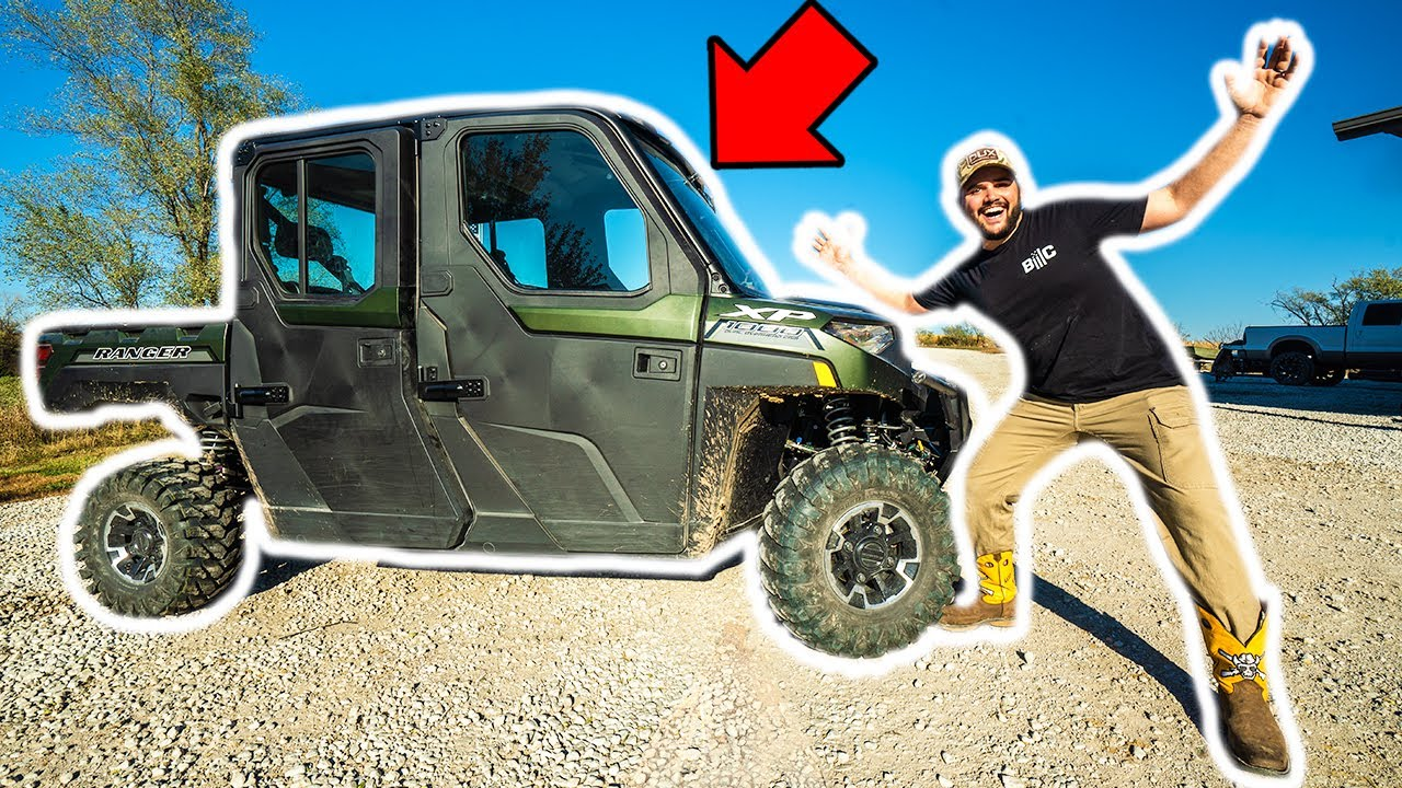 I Bought a BRAND NEW 2021 OFF-ROAD 4x4 UTV for the BACKYARD FARM!!! (HEAT, A/C, and MORE!)