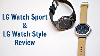 LG Watch Sport & Watch Style Review