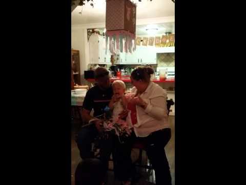 Baby Angerer #2 Pull String Pinata Gender Reveal