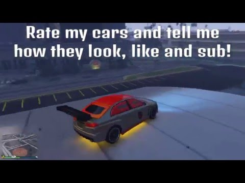 GTA-5 Garage Tour, All five garages Nice cars and Ratings plz, All types of cars!!