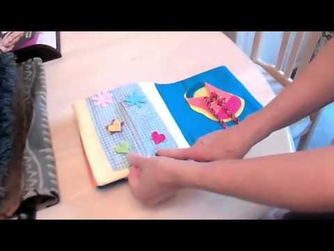 Homemade Child's Cloth Book