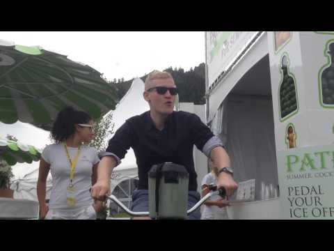 Blending a Margarita with Pedal Power at the Food and Wine Classic in Aspen | Food & Wine