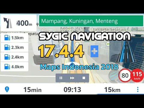GPS Sygic Navigation 17.4.4 Full | UPDATE Maps Indonesia 2018