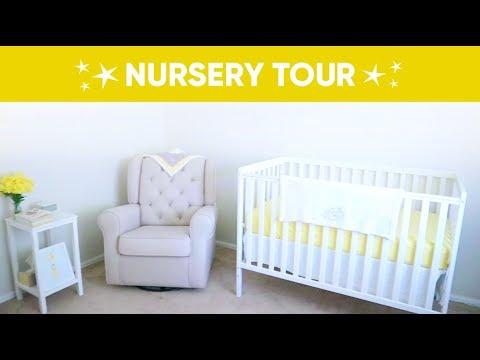 Nursery Tour | Pop of Yellow