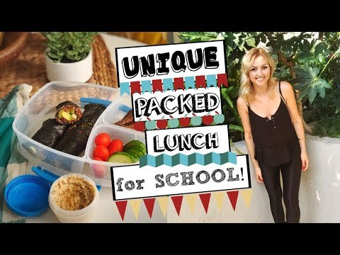 Unique Packed Lunch Ideas for School/Work  | VEGAN