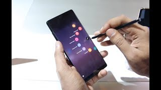 Samsung Galaxy Note8 with Stylus Pen [India] Hands On, Camera Samples, Features and Battery