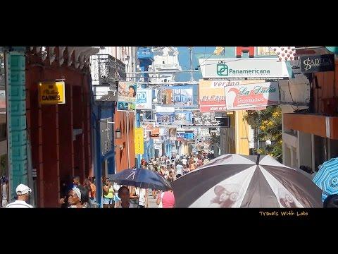 Santiago de Cuba - Calle Enramadas - Most Interesting Street in Cuba