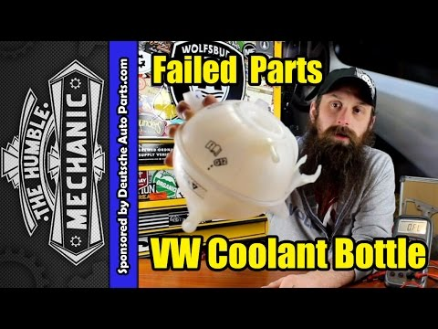 How VW Coolant Bottles Fail