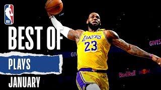 NBA's Best Plays   January   2019-20 NBA Season