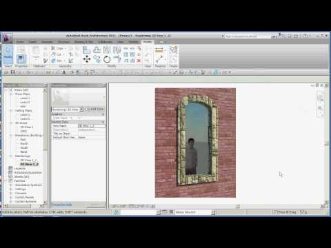 REVIT Intro to Arched Opening and In-Place Sweep Trim - CADclips