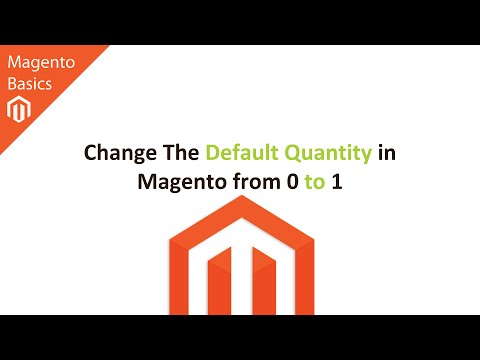 Change The Default Quantity in Magento from 0 to 1 (How To)