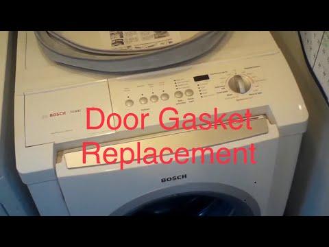 Bosch Front Load Washing Machine Door Gasket -- How to Install