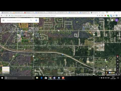 How to rotate the google maps satellite or map view using the PC desktop mode?