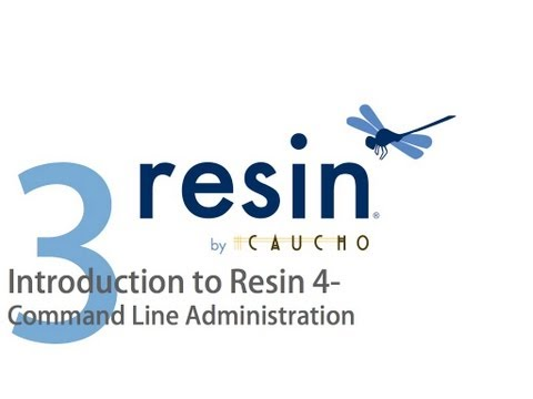 Introduction to Caucho Resin   Part 3   Command Line Administration