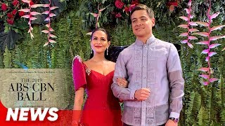 A famous fashion brand loved the material of Iza Calzado's gown!