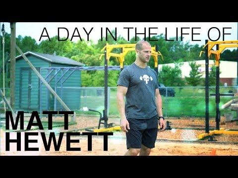 A Day in the Life of Matt Hewett - CrossFit Mayhem Freedom